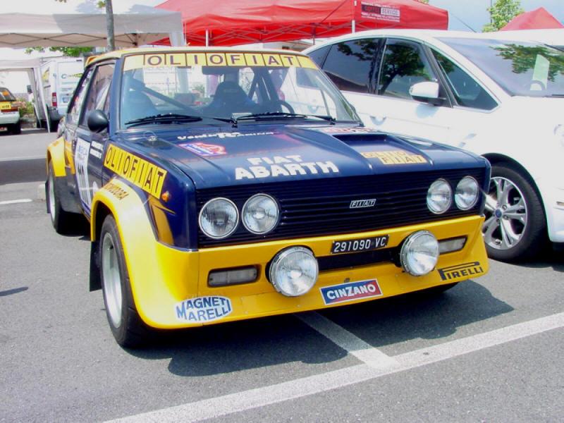 Fiat Abarth 131 Olio Fiat